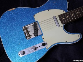 10 2009 Telecaster Relic Blue Sparkle Jason Smith Masterbuilt - Out of Stock -