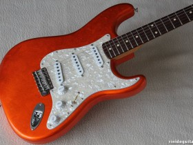 13 2007 Stratocaster Tangerine over Gold J. Cruz Masterbuilt - Out of Stock -